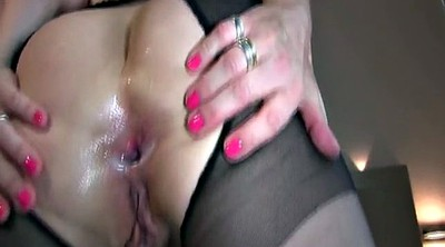 Bbc anal, White wife, Anal homemade