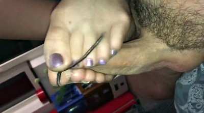 Footjob, Feet, Nylon feet, Nylon footjob