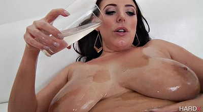 Angela white, Oil solo, Huge ass, Angela white solo, Angela, White pussy