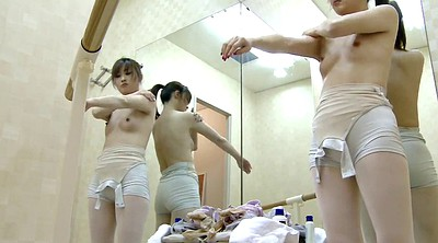 Changing, Ballerina, Japanese voyeur, Japanese caught, Spying, Caught amateur