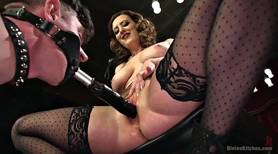 Face sitting, Torn, Mistress strapon, Femdom strapon, Cherry torn