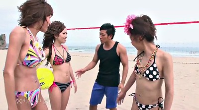 Beach, Japanese uncensored, Japanese blowjob