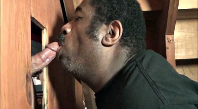 Cum swallow, Glory hole, Blacked white, Swallow cum
