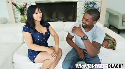 Asian milf, Small dick, Riding cock, Asian black