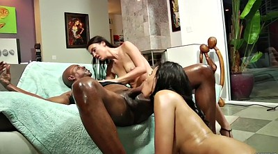 Swallow, Oil anal, Interracial anal