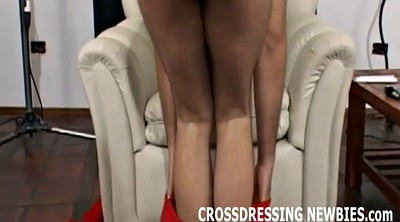 Crossdresser, Crossdress, Watching, Crossdressers, Come
