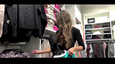 Pantyhose fuck, Shopping, Room, Changing pantyhose, Black pantyhose, Shop