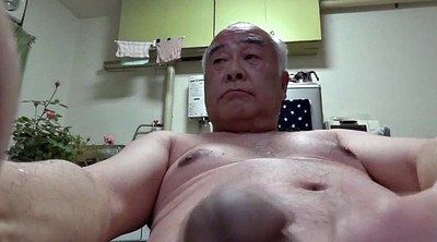 Japanese, Japanese granny, Man, Asian man, Old man handjob, Old japanese