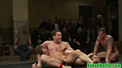 Wrestling, Threesome rimming, Fight