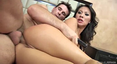 Licking pussy, Cowgirl anal