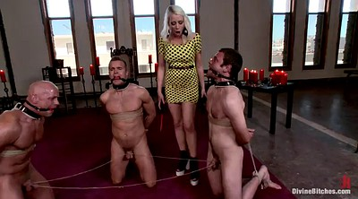 Torture, Strapon guy, Mature femdom, Tortured, Dominatrix