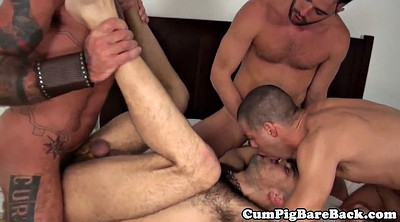 Muscle, Muscular, Gay muscle, Foursome anal