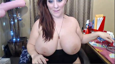 Dildo, Chubby solo, Huge ass