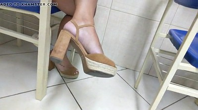 High heels, Brazilian foot, Sole