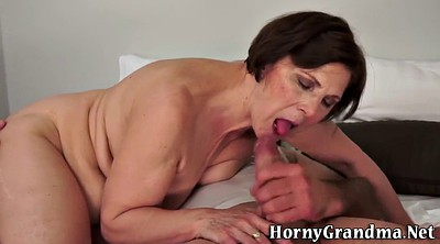 Granny, Grandma, Mature blowjob, Grandmas