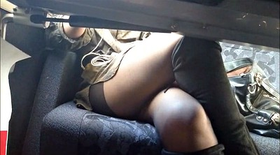Young, Upskirt, Train