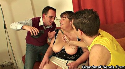 Big boobs, Granny swallow, Mature swallow, Big boobs milf, Old women, Granny threesome