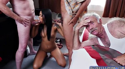 Teens, Nikki, Teen gangbang, Neighbor, Older sex