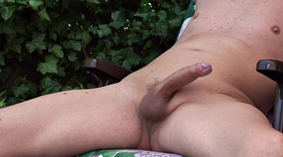 Garden, Old gay, Naked