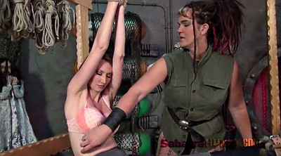 Tickle, Tickling, Red, Kendra james, Lesbian bdsm, Sex torture