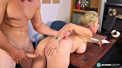 Cougar, Mature creampie, Blonde cougar