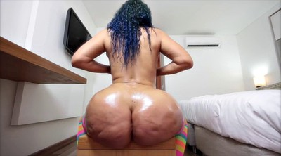 Big ass, Solo babe, Oil, Solo ass, Mature solo