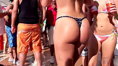 Candid, Big butt latinas, Pool party, Candid ass