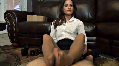 Pantyhose footjob, Pantyhose feet fetish, Pantyhose feet