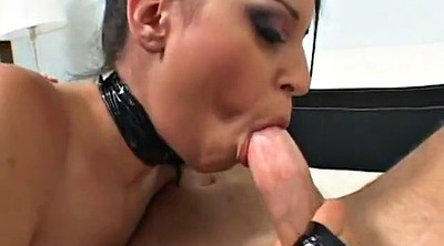 Leather, Cum in mouth, Boot, Cum boots