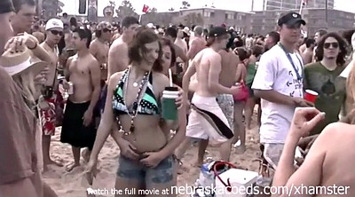 First time, Girls, Spring, Beach sex, Texas, Young party