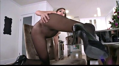 Nylon, Flash, Sheer, Black pantyhose, Black nylon