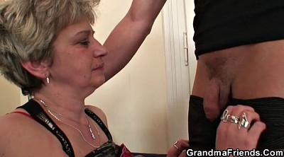 Wife gangbang, Sexy teacher, Teacher threesome, Granny gangbang