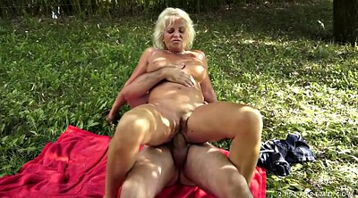 Thick, Granny outdoor