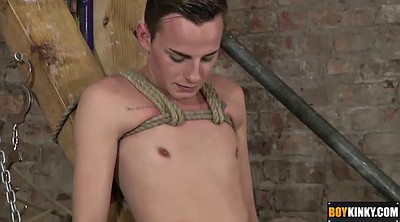 Tied, Gay handjob, Gay bdsm