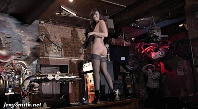 Bar, Naked on stage
