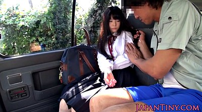 Japanese schoolgirl, Japanese car, Asian schoolgirl, Japanese schoolgirls