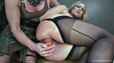 Strapon, Anal fisting, Milf bdsm anal, Anal mature, Mature slave, Lesbian anal