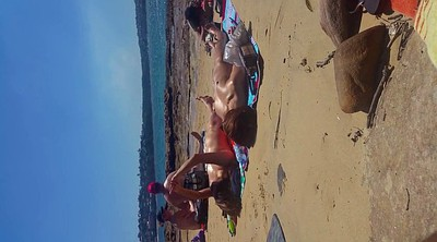 Beach, Korean girl, Koreans, Nude beach, Korean milf, Korean hidden cam
