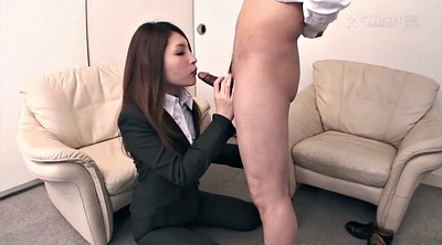 Japanese office, Hole, Uncensored