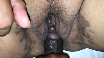 Interracial, Creampie bbw