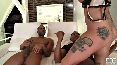 Blacked anal, Anal interracial