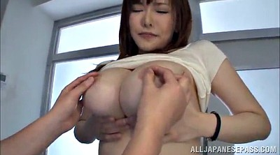 Busty asian, Squeeze