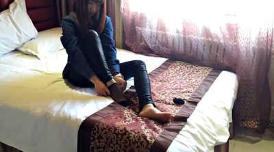 Nylon, Nylon feet, Nylon foot, Asian foot, Asian feet