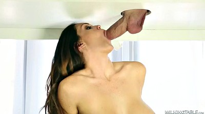 Milk, Alison tyler, Tattoo, Cock milking, Alison, Massage handjob