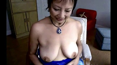 Asian granny, Granny asian, Granny webcam, Granny dildo masturbation
