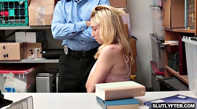 Office, On her knees