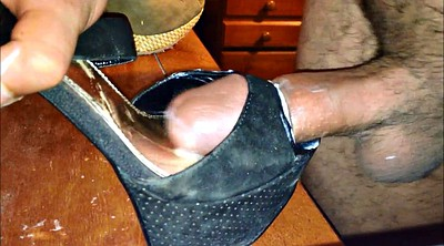 Shoes, Shoe, Cum shoe, Heel shoes, Gay cum