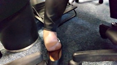 Hidden, Hidden cam, Sole, Foot job, Candid