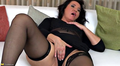 Big clit, Horny mom, Mom big