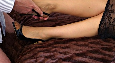 Nylon feet, Nylon cumshot